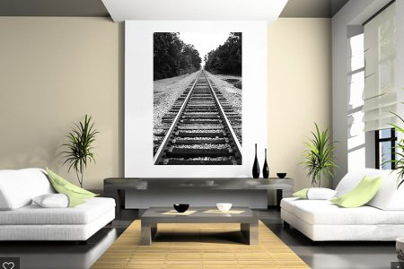 Train Track Living Room